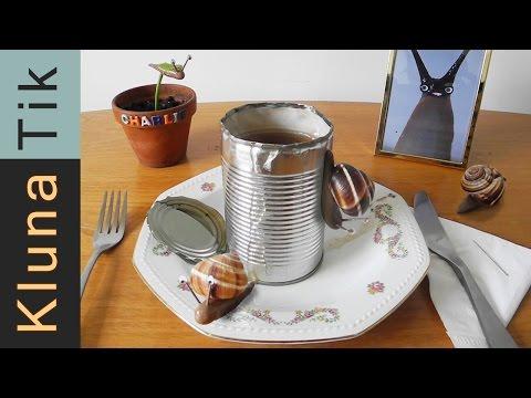 Kluna and Charlie eating strange French food!!!  ASMR eating sounds No talking