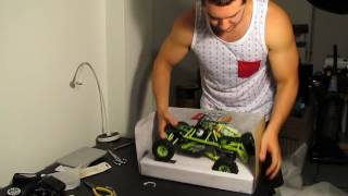 WLtoys 12428 1/12 4WD rc rock racer unboxing and first look