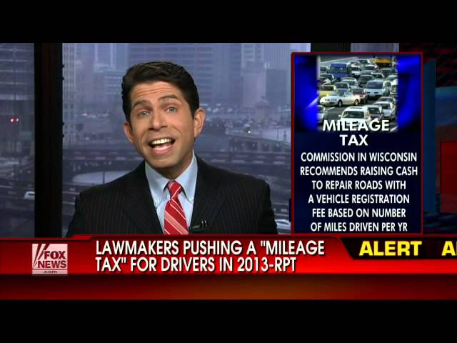 Carol Roth Mileage Tax VMT Fox News Cashin In Fuel Tax