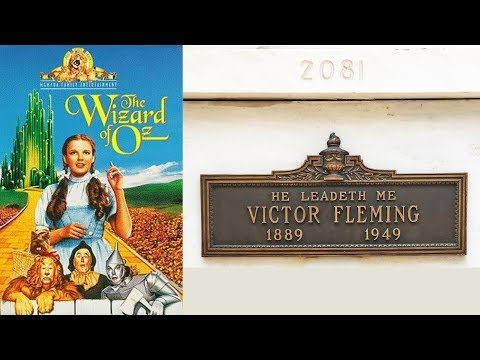 FAMOUS GRAVE TOUR: Visiting Wizard Of Oz Director Victor Fleming In Hollywood, CA