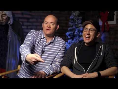 """Krampus"" David Koechner And Michael Dougherty"