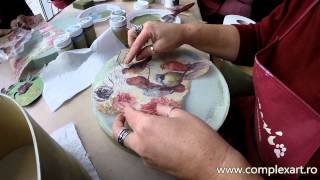 Tutorial Shabby Chic cu Dekor Paint Soft - 20.12.2014