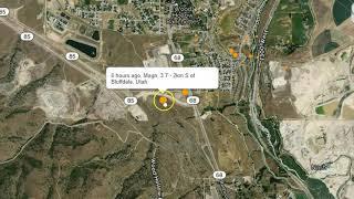 Multiple Earthquakes Rattle Areas of Utah