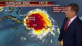 South Florida in Hurricane Irma's bullseye