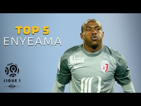 Vincent Enyeama - Top 5 Saves - Ligue 1 / LOSC Lille