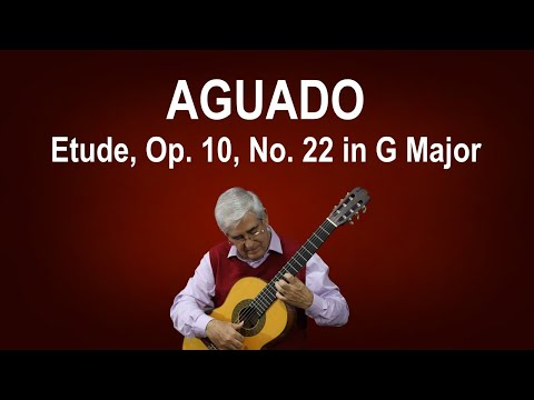 Dionisio Aguado - Study 26 In A Major