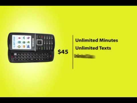 StraightTalk - two simple cell phone plans from Walmart!