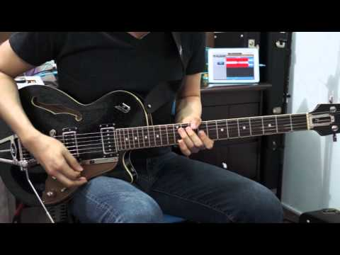 How to Play Turn it up - Planetshakers - Electric Guitar by Nathan Park