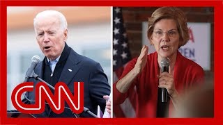 Biden-Warren feud re-emerges on campaign trail