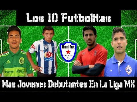 SUSCRIBETE � https://goo.gl/TnWsFJ CONOCE QUIENES FUERON LOS 10 FUTBOLISTAS QUE DEBUTARON MAS J�VENES EN LE F�TBOL MEXICANO Quizá algunas personas piensen que debutar joven en primera...