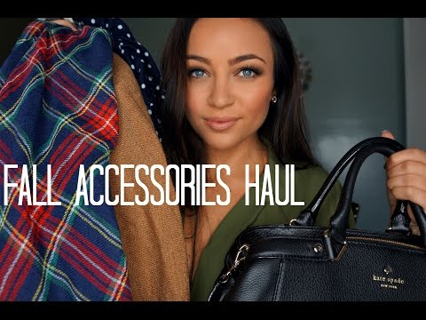 Fall Accessories Haul ♡ [Scarves, Shoes, Bags, etc.]