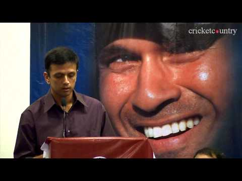 Sachin Tendulkar has inspired a whole generation of players, says Rahul Dravid