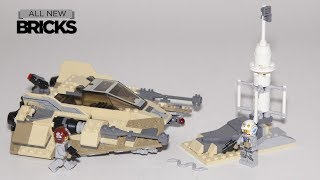 Lego Star Wars 75204 Sandspeeder Speed Build