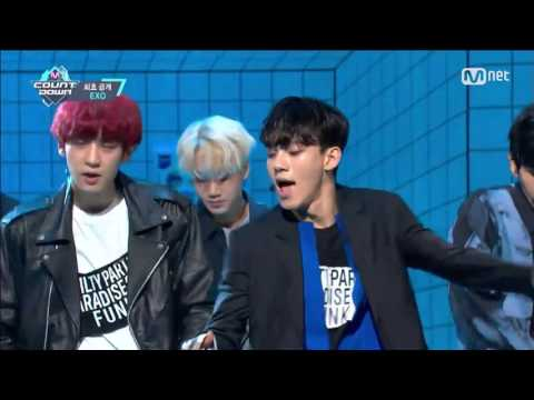 EXO 「Lucky One」�年6月9日放送「M COUNTDOWN」)