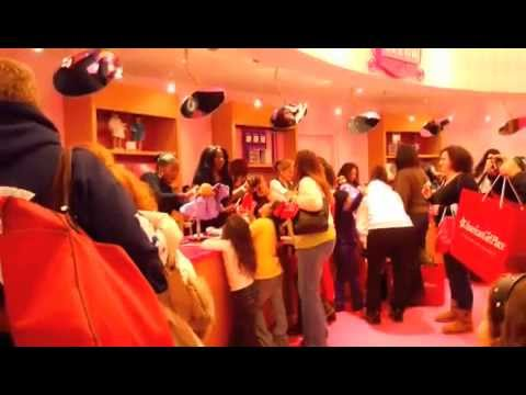 My Birthday/Trip to the American Girl Place in NYC!