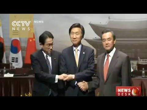 China-Japan-ROK foreign ministers held talks in Seoul