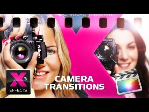 Final Cut Pro X Camera Transitions