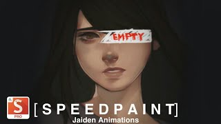[iPad 3 SPEEDPAINT] Empty • Jaiden animations ft. Boyinaband (autodesk sketchbook pro)