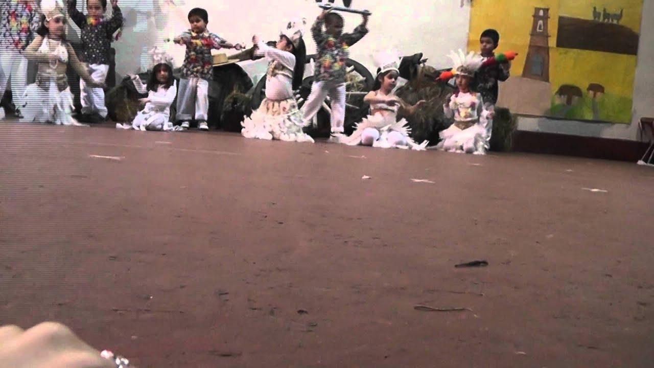 Baile pascuense jardin infantil gasparin avi youtube for Jardin infantil