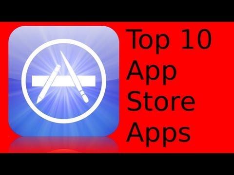 Top 10 iOS AppStore Apps [Deutsch/German]