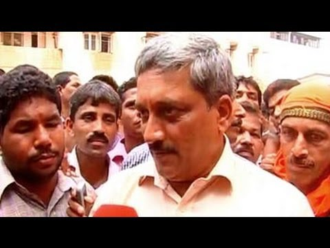 Party to decide if I will be Goa CM: Parrikar