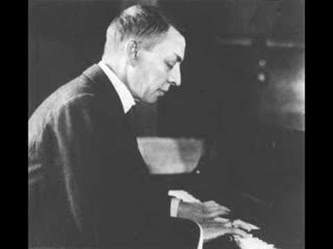 Rachmaninoff plays Rhapsody on a Theme of Paganini