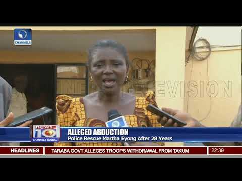 Police Rescue Cameroonian Woman 28 Years After She Was Kidnapped In Nigeria