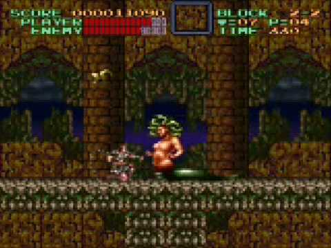 Super Castlevania 4 Stage 2 Video