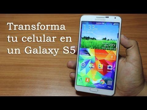 Convierte tu celular en un Galaxy S5 [No Root] // Tu Android Personal