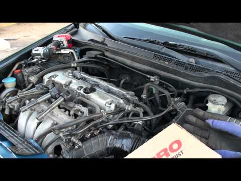 Honda Accord valve cover gasket replacement part1