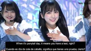 AKB48 Sentimental Train Live - English Sub / Sub Español - W Center Sakura & Akari