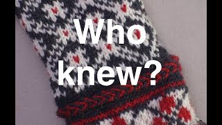Multi-color Knitting -- What I didn't Know // Casual Friday #15
