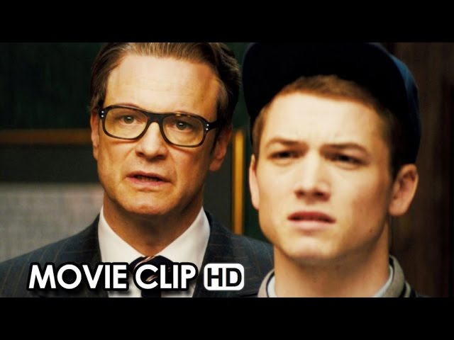 Kingsman: The Secret Service Movie CLIP 'Bar Fight' (20159 - Colin Firth HD