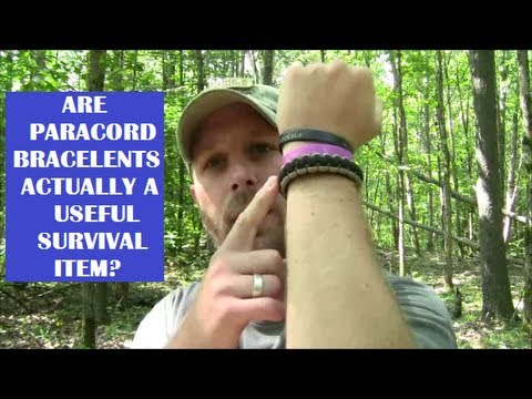 Are Paracord Bracelets Actually A Useful Survival Item?