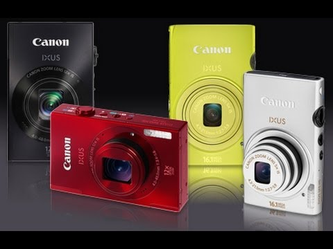 canon ixus 500 hs & 510 hs digital camera ᴴᴰ youtube
