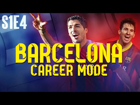 CHAMPIONS LEAGUE! FIFA 14 Barcelona Career Mode - S1E4