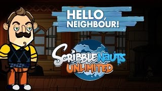 Scribblenauts Unlimited 211 Hello Neighbor (Making the Neighbor)