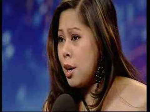 Britain's got (Filipina) Talent - Madonna Decena Video