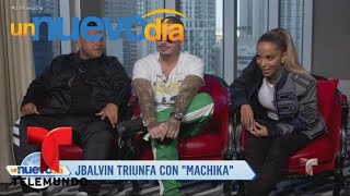 """download musica Jeon J Balvin y Anitta conquistan al mundo con """"Machika"""" Un Nuevo Día Telemundo"""
