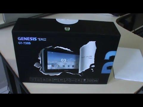 UNBOXING Tablet Genesis GT 7305