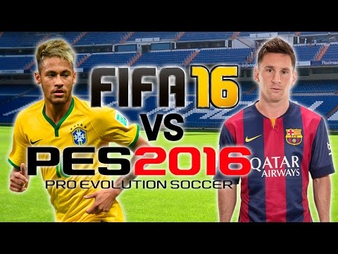 FIFA 16 vs PES 2016 | E3 Trailer Gameplay