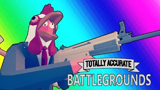 Totally Accurate Battlegrounds Funny Moments - Silliest Battle Royale Game Yet!