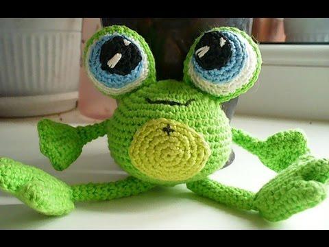 Как сделать из резинок лягушку