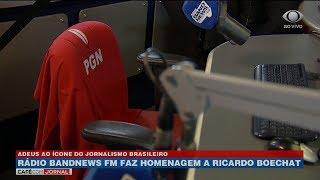 Cadeira de Boechat na BandNews será aposentada