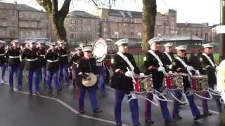Apprentice Boys Of Derry (ABOD) - Closing of the Gates Parade 2014 - Glasgow - Saracen