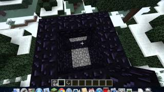 HOW TO MAKE A ZOMBIE PIGMEN FARM IN MINECRAFT 1.3.2 in the overworld