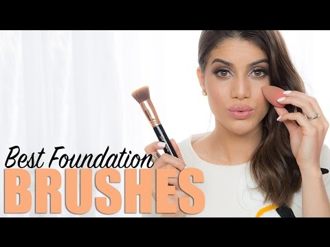 Best Foundation Brushes   Makeup Tutorials and Beauty Reviews   Camila Coelho