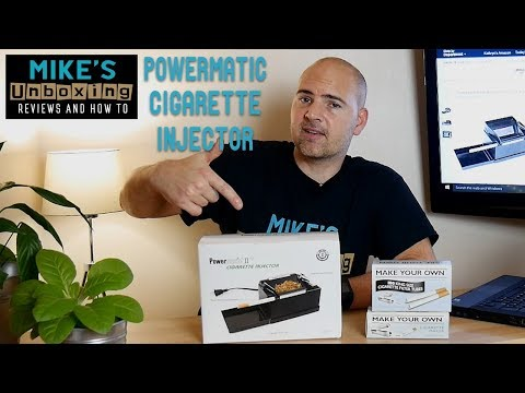 Powermatic 2 Plus Automated Cigarette Injector RYO Machine Unboxing & First Look