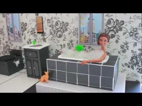How To Make A Doll Bath Tub Doll Crafts Youtube