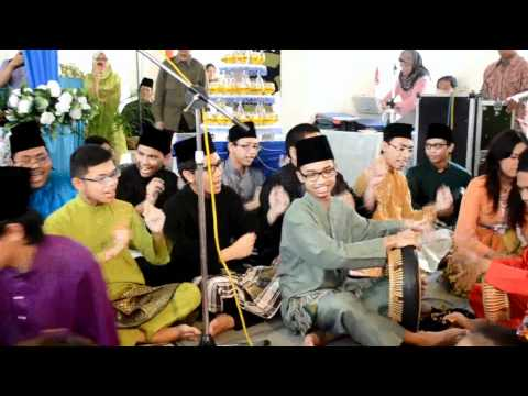 Dikir Barat By Pst  Syahib & Fyfy Wedding 2012 video